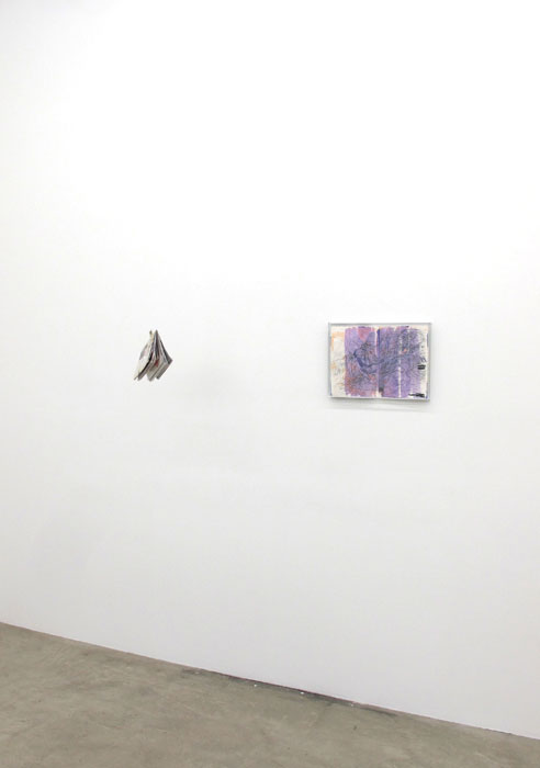 Installation view,  Chris Churchill - Justin Lieberman , Martos Gallery, New York, 2012