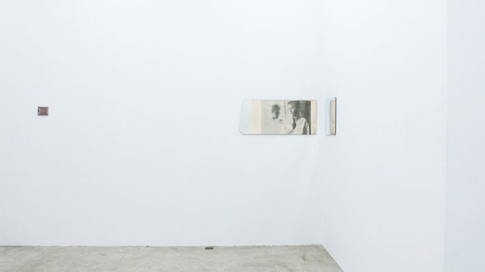 Installation view,  God Dies , Martos Gallery, New York, 2012