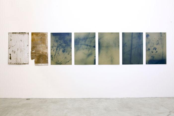 Installation view, Ryan Foerster/Ben Schumacher , Martos Gallery, New York, 2012