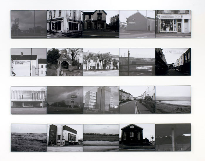 Dan Rees, One Afternoon and Evening in Llanelli (Ode to Cerith Wyn Evans) ,2006,10.2 x 11 in each,Edition 5/5 + II AP