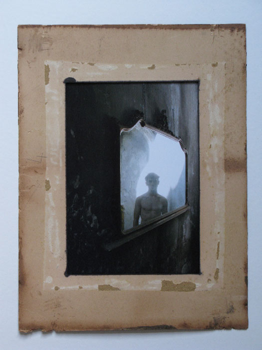Andrew Mania, Mirror , 2008,C-print mounted on card, 14.8 x 11 in,Edition of 5