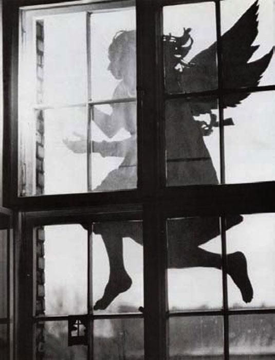 Lourdes Castro with Manuel Zimbro,  Atelier Berlin XII , 1978, enlargement on cotton paper,23.6 x 17.3 in