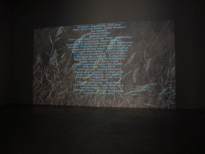 Jules Marquis and P Smith,   Untitled Italic , 2010,digital video,2:10 min