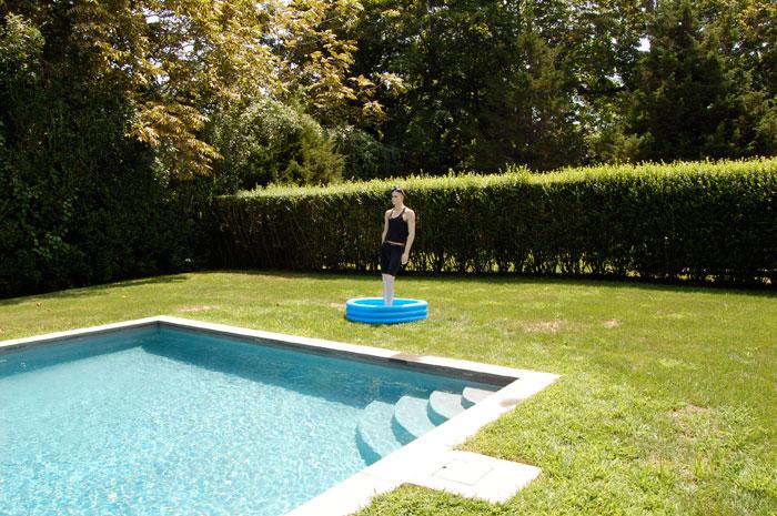 Installation view, Wait For Me at the Bottom of the Pool , Martos, Bridgehampton, NY, 2010