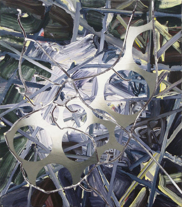 Bill Komoski, 2/3/10 , 2010, Acrylic paint on canvas, 26 x 23 in