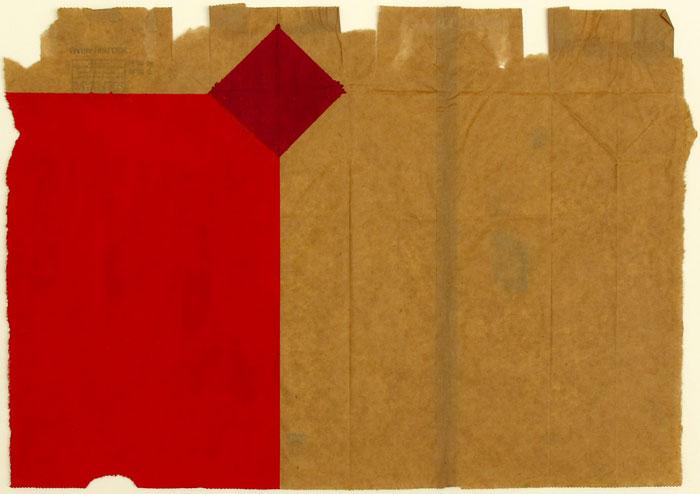Ben Berlow, Untitled , 2005, Acrylic on envelope, 12 1⁄2 x 17 7/8 in