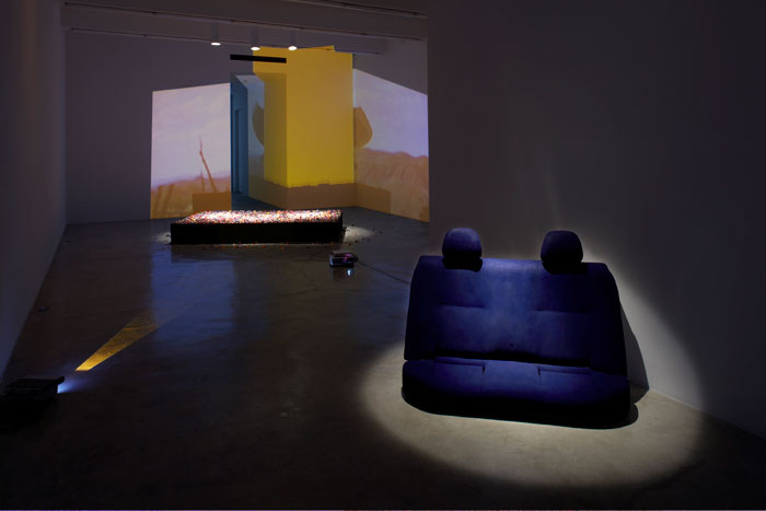 Installation view,  Personas,  Martos Gallery, New York, 2009