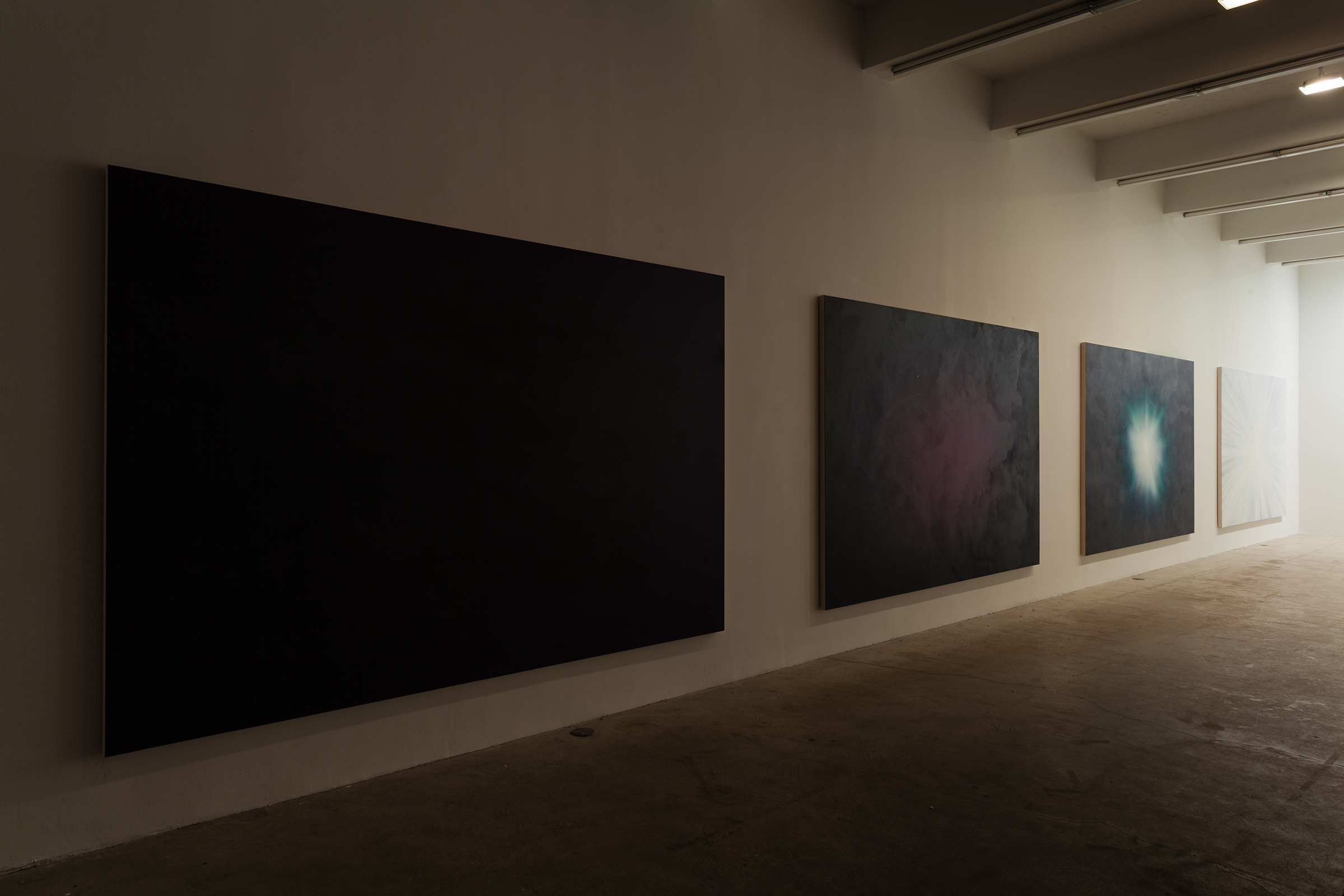 Installation view,  Hie to Kolob , Martos Gallery, New York, 2015