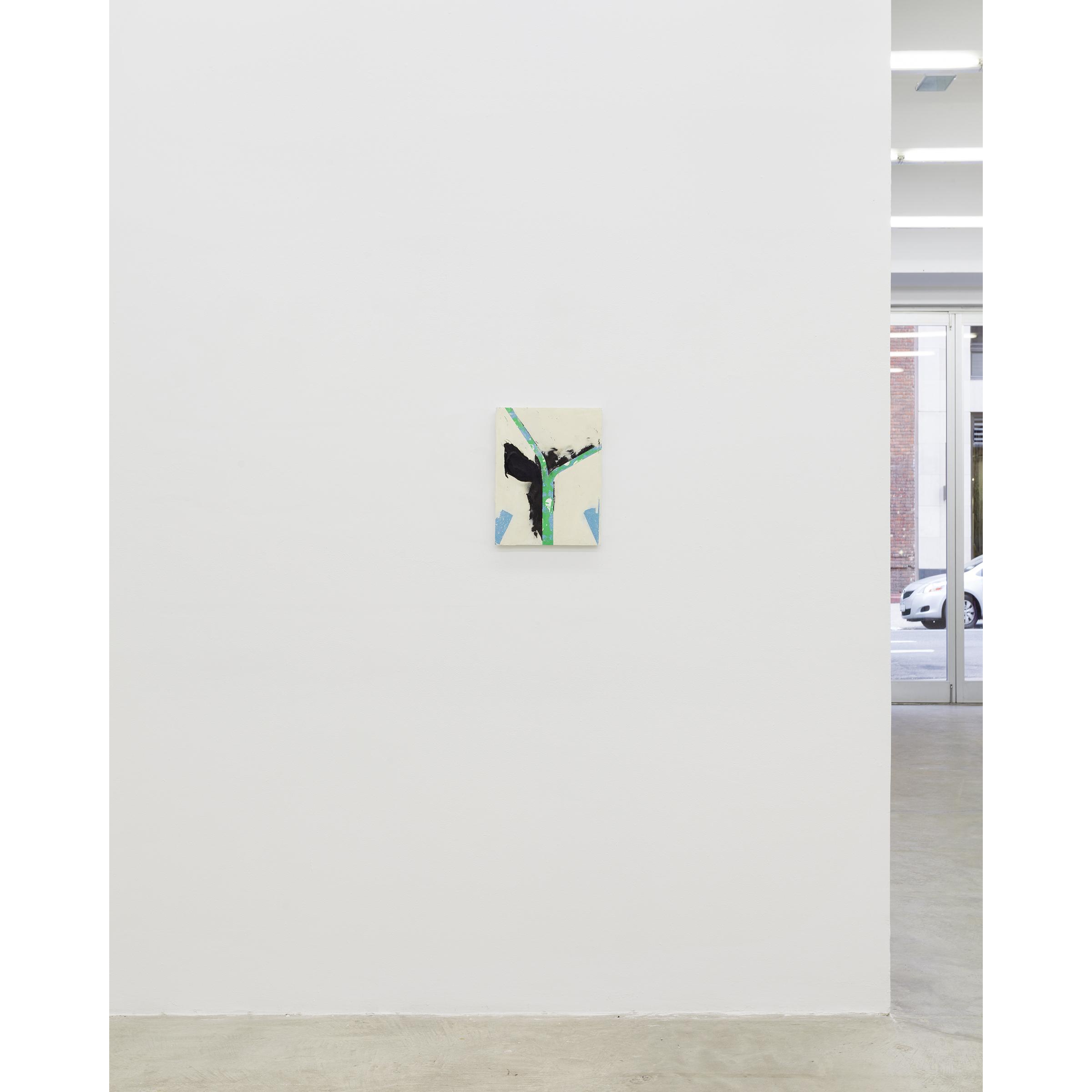 Installation view, Thick Pink, Stuffed Light, Martos Gallery, New York,2014