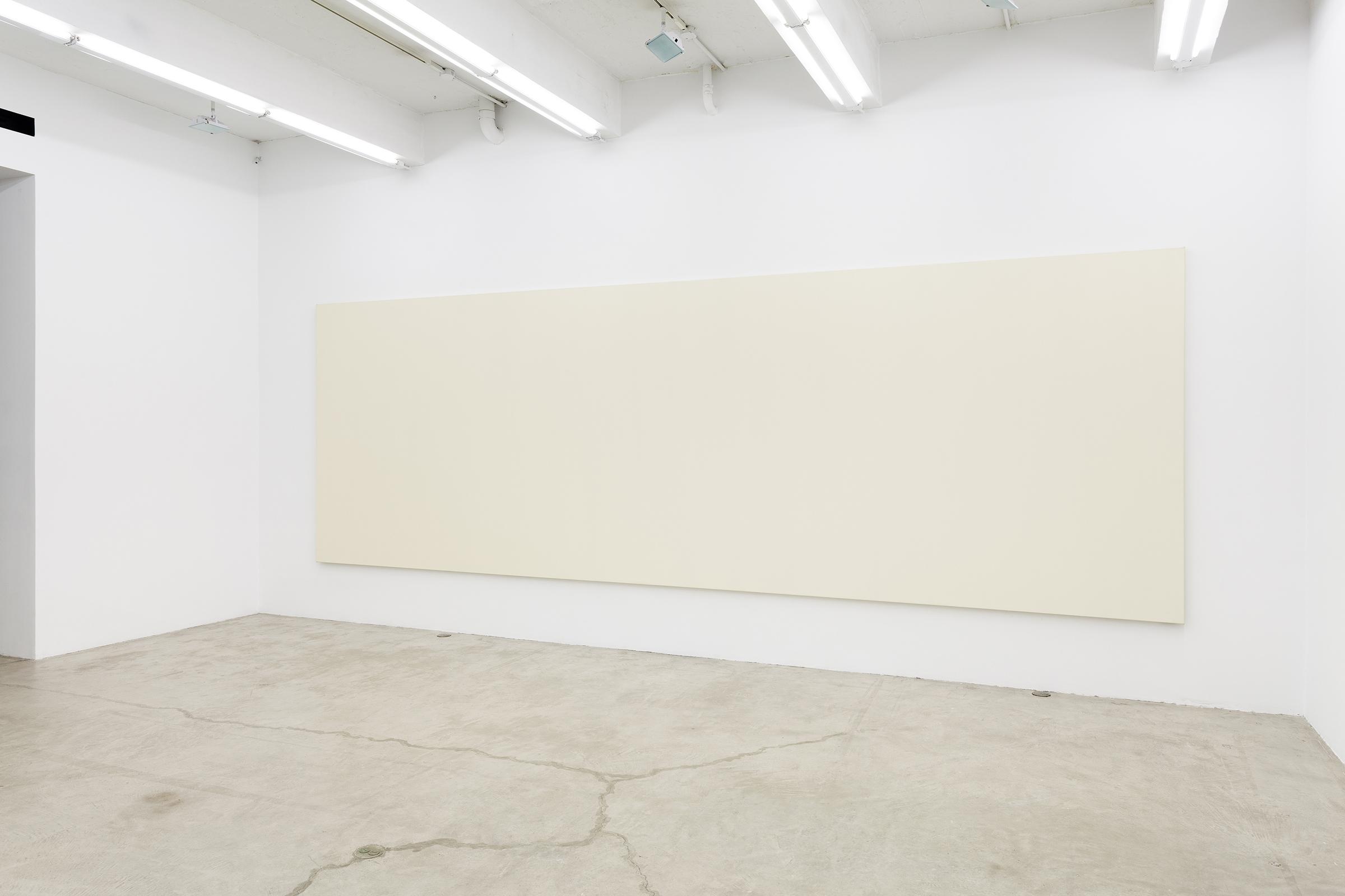 Installation view, Olivier Mosset , Martos Gallery, New York, 2013