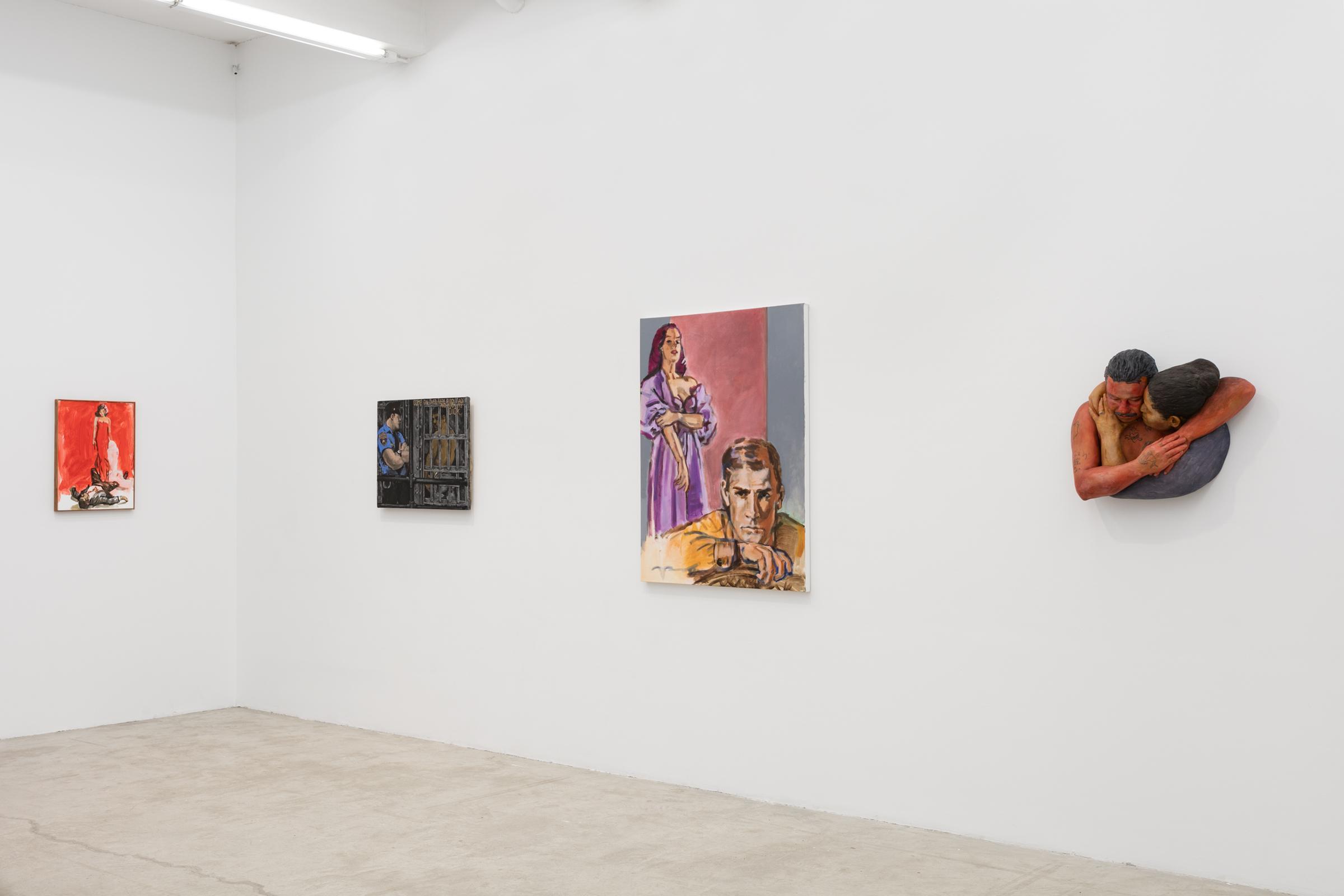 Installation view, Hard Love , Martos Gallery, New York,2016
