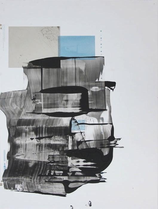 Ryan Foerster, Photo Book Printing Plate 4 , 2012, aluminum printing plate,35 x 23 in