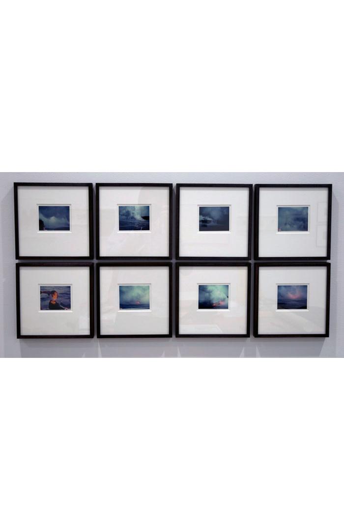 Ilana Halperin, Lava Ocean Entry Point , 2011, C-prints,dimensions variable, Edition of 3