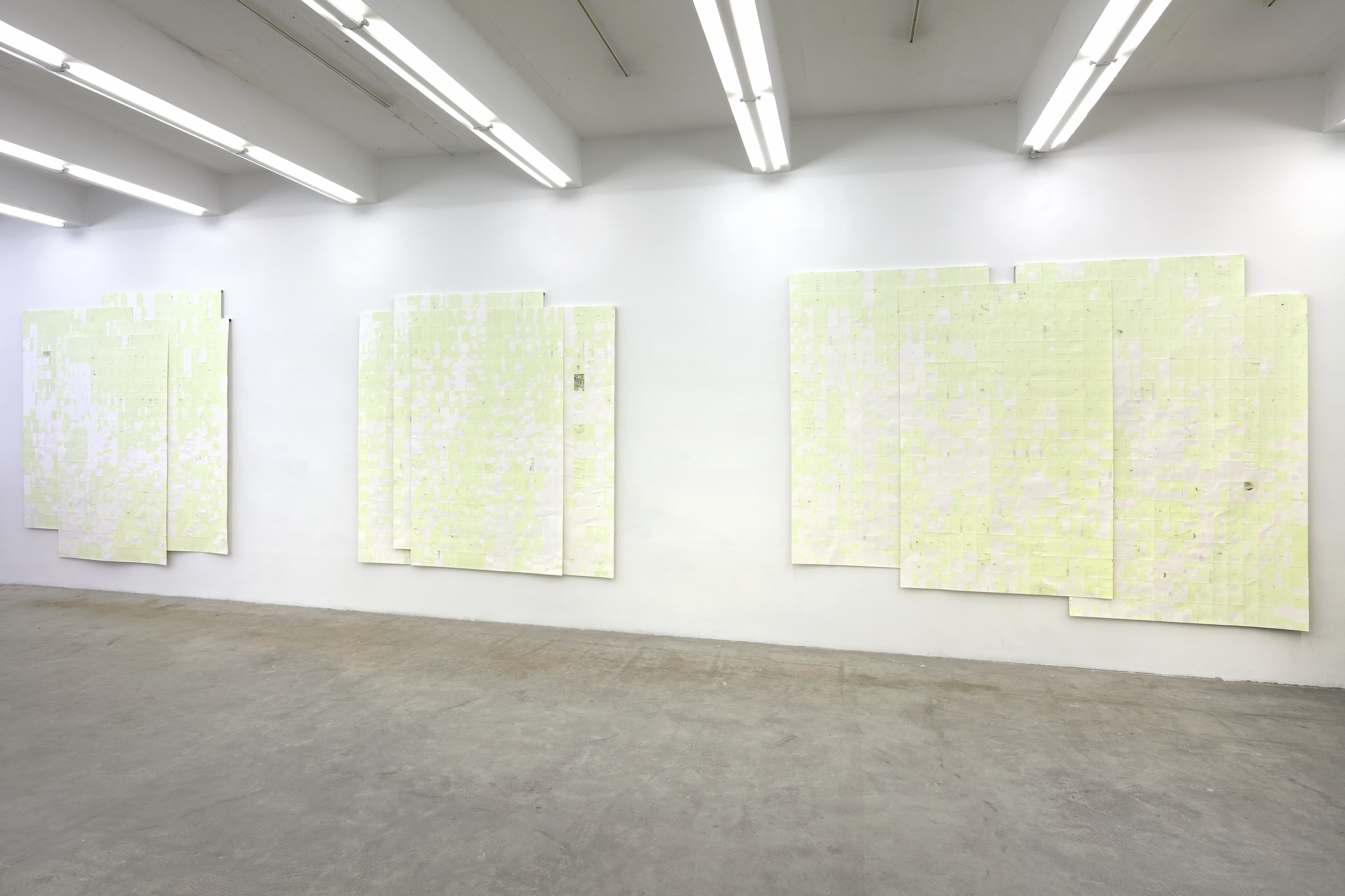 Installation view (light), Winter, summer together , Martos Gallery, New York,2016
