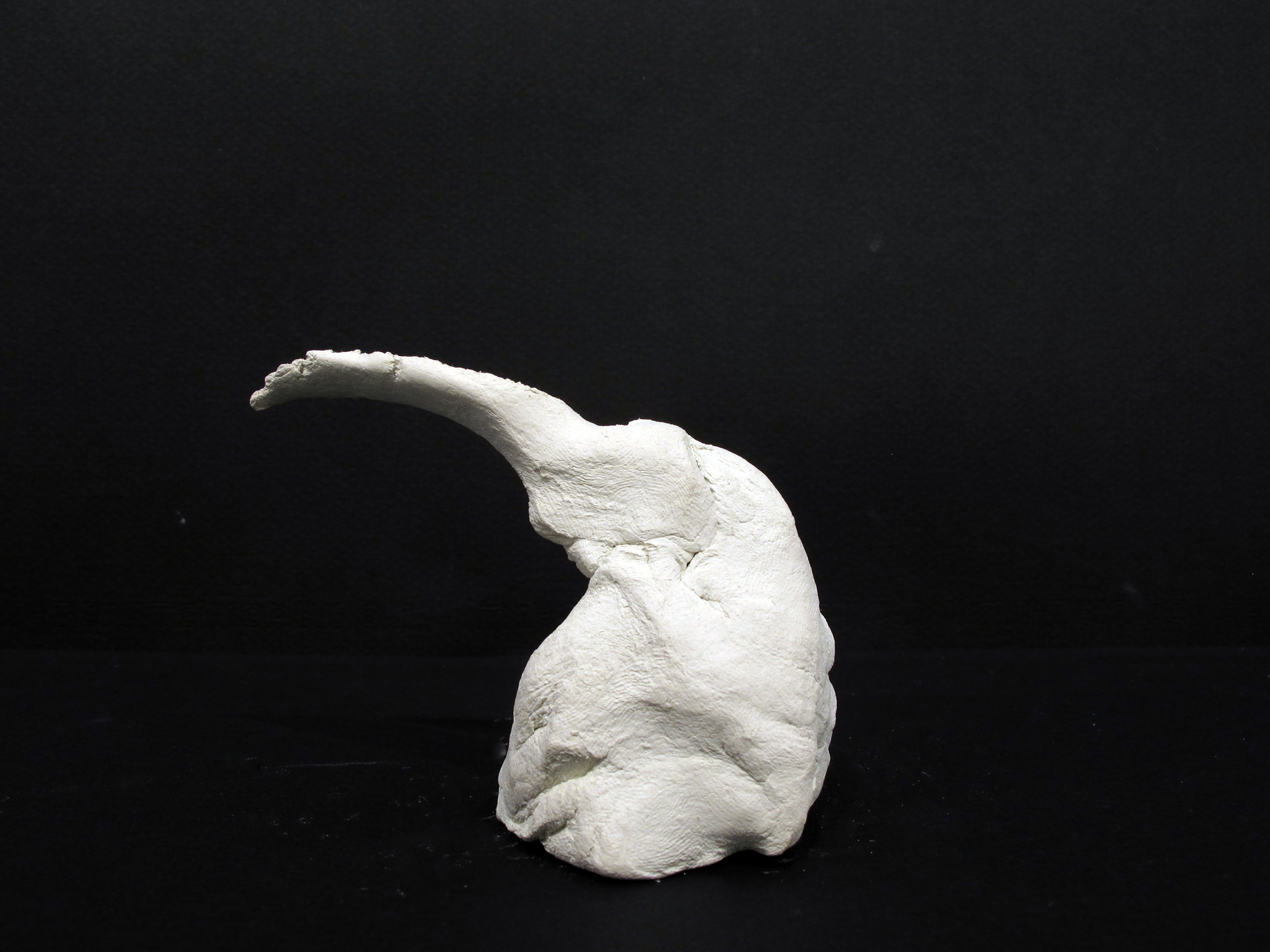 Dan Asher,  Untitled,  1993, clay, 2.5 x 2.25 x 2 in.