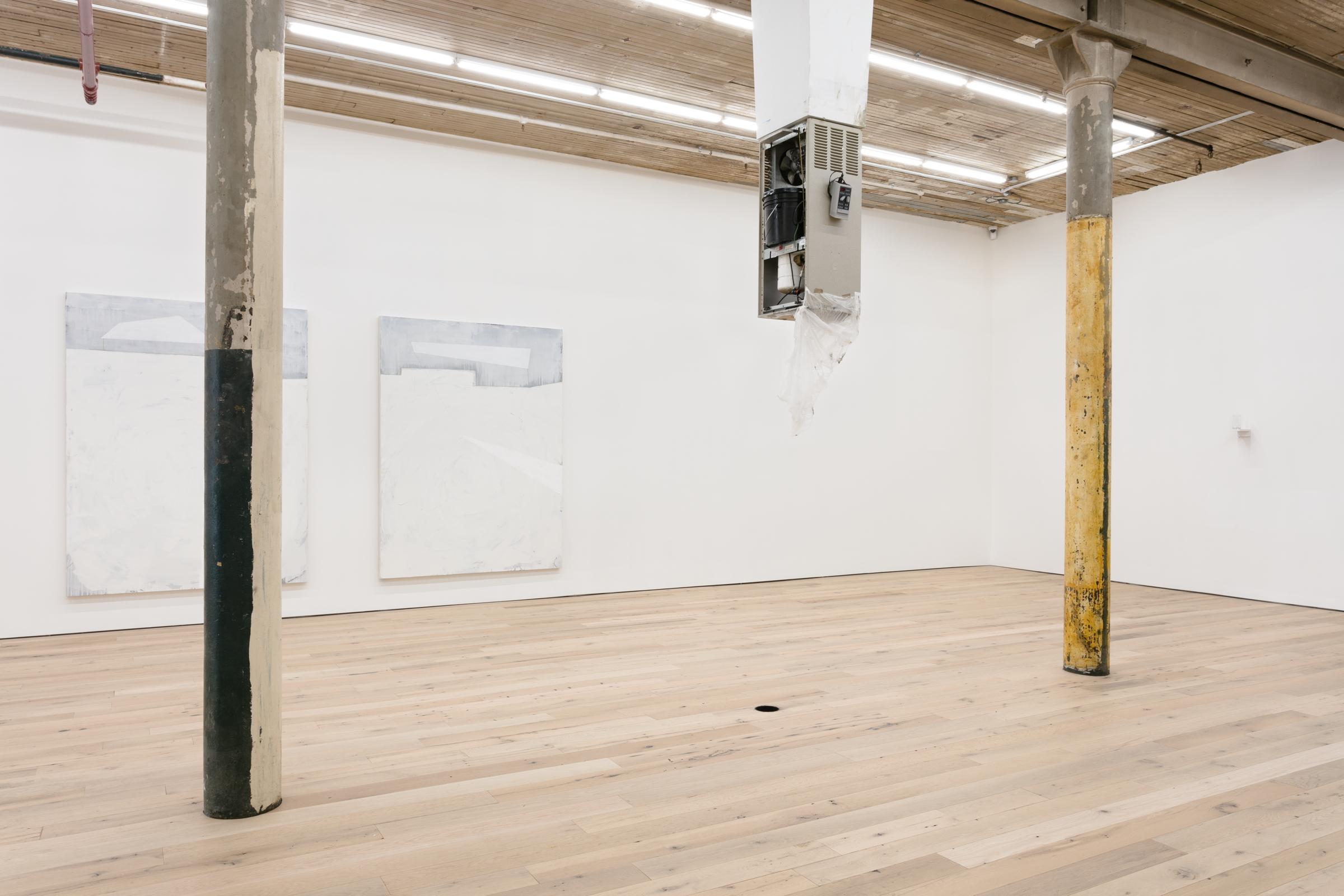 Installation view, Invisible Man, Martos Gallery, New York, 2017