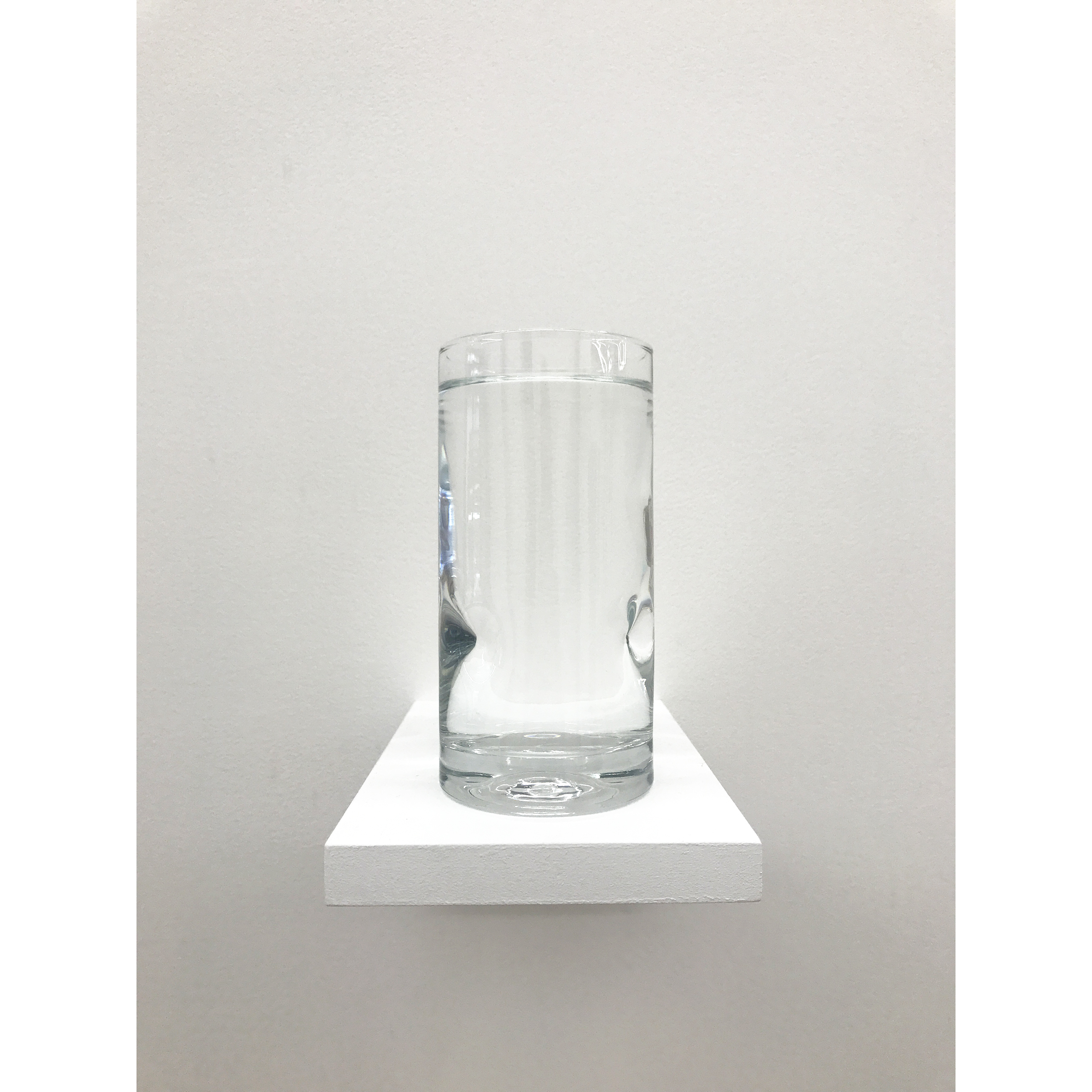 Pope.L, Well (elh version) , 2017, wood, glass, water, dimensions variable