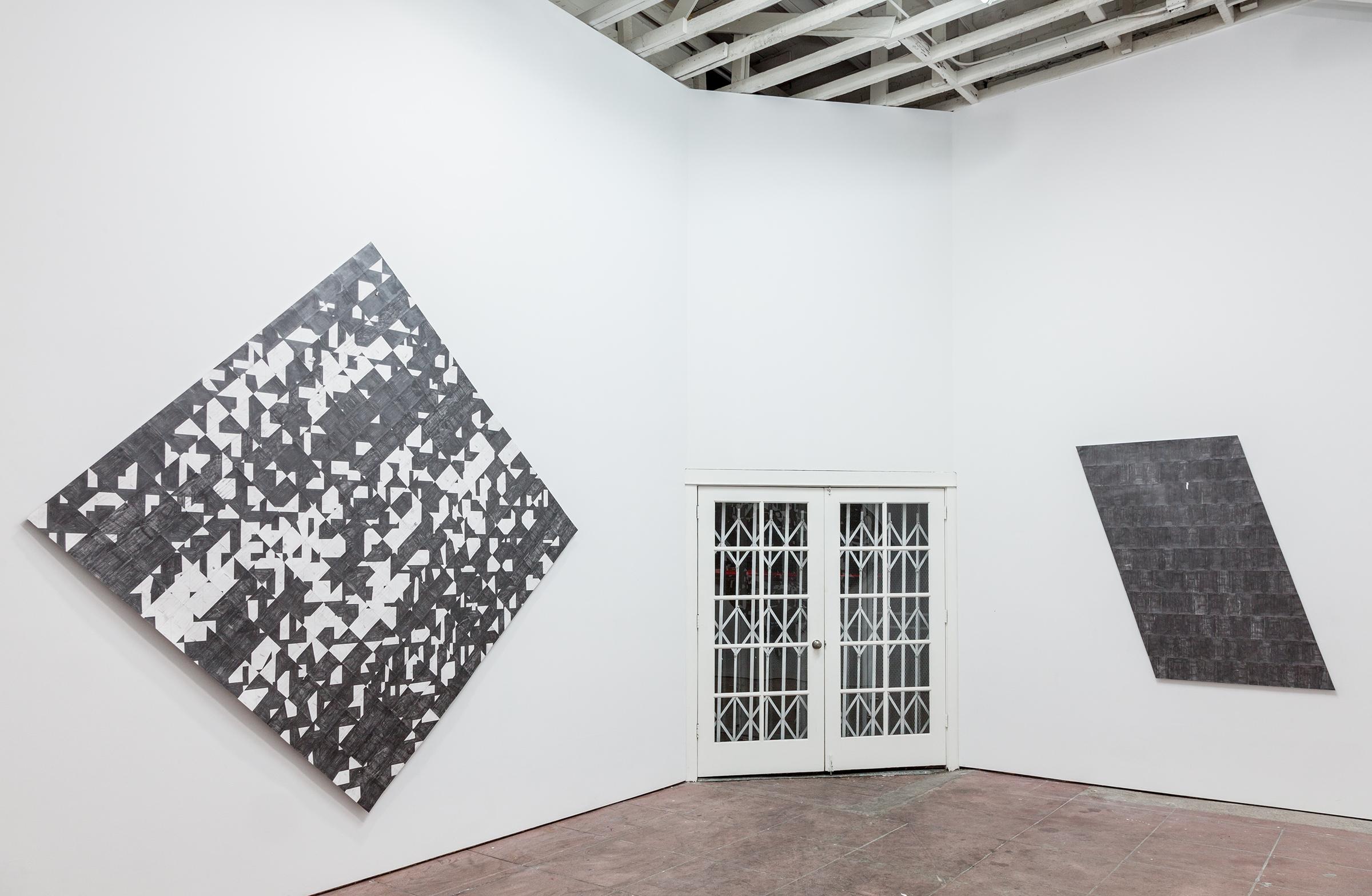 Installation view, Label the Shapes, Martos Gallery, Los Angeles, 2015