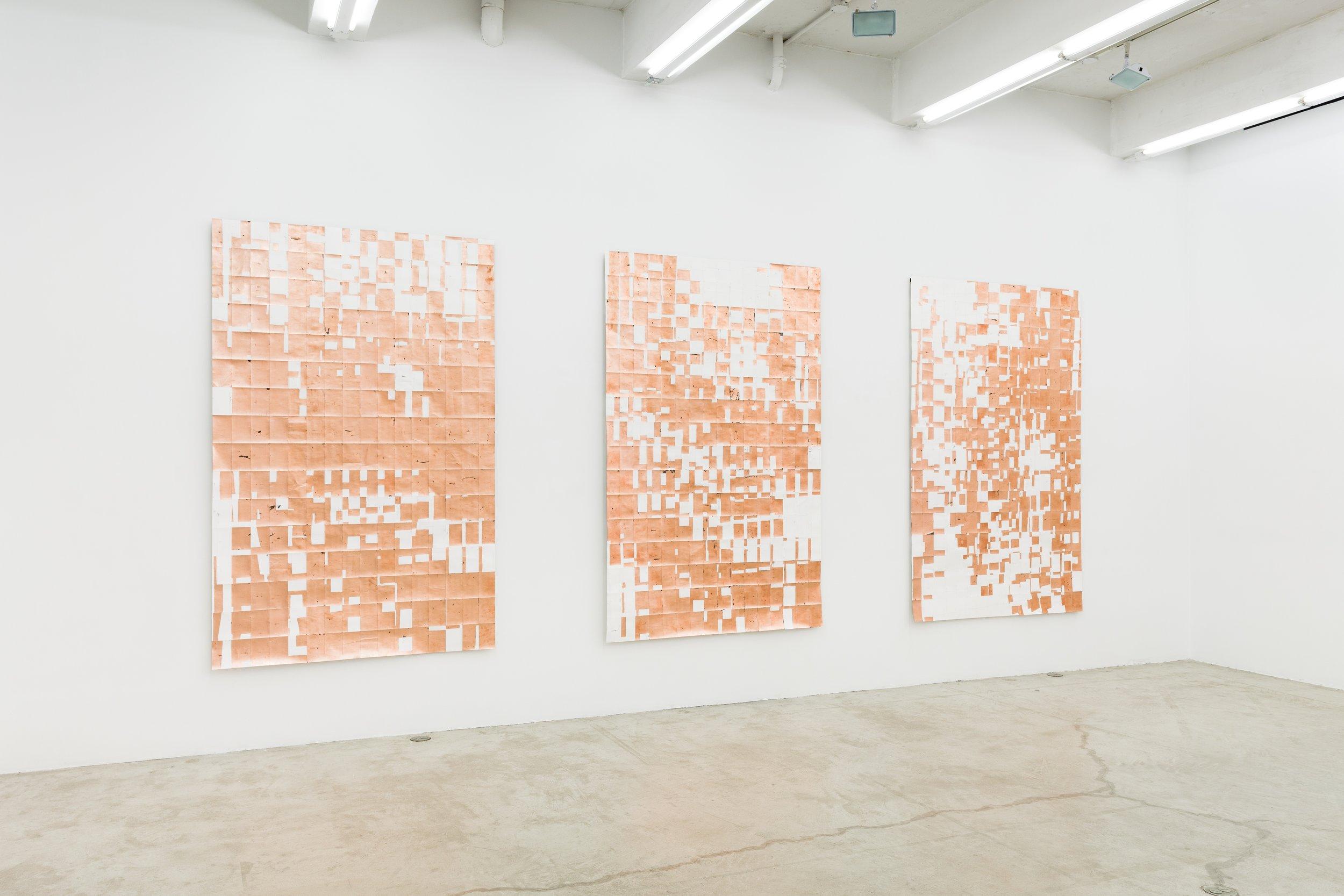 Installation view,  Aux quatre vents, Martos Gallery, New York, 2013