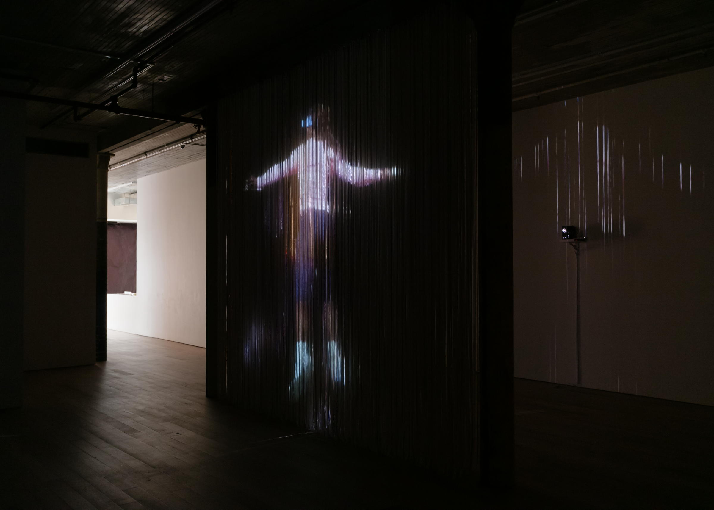 Installation view,  Figure Ascending a Return,  Martos Gallery, New York, 2017