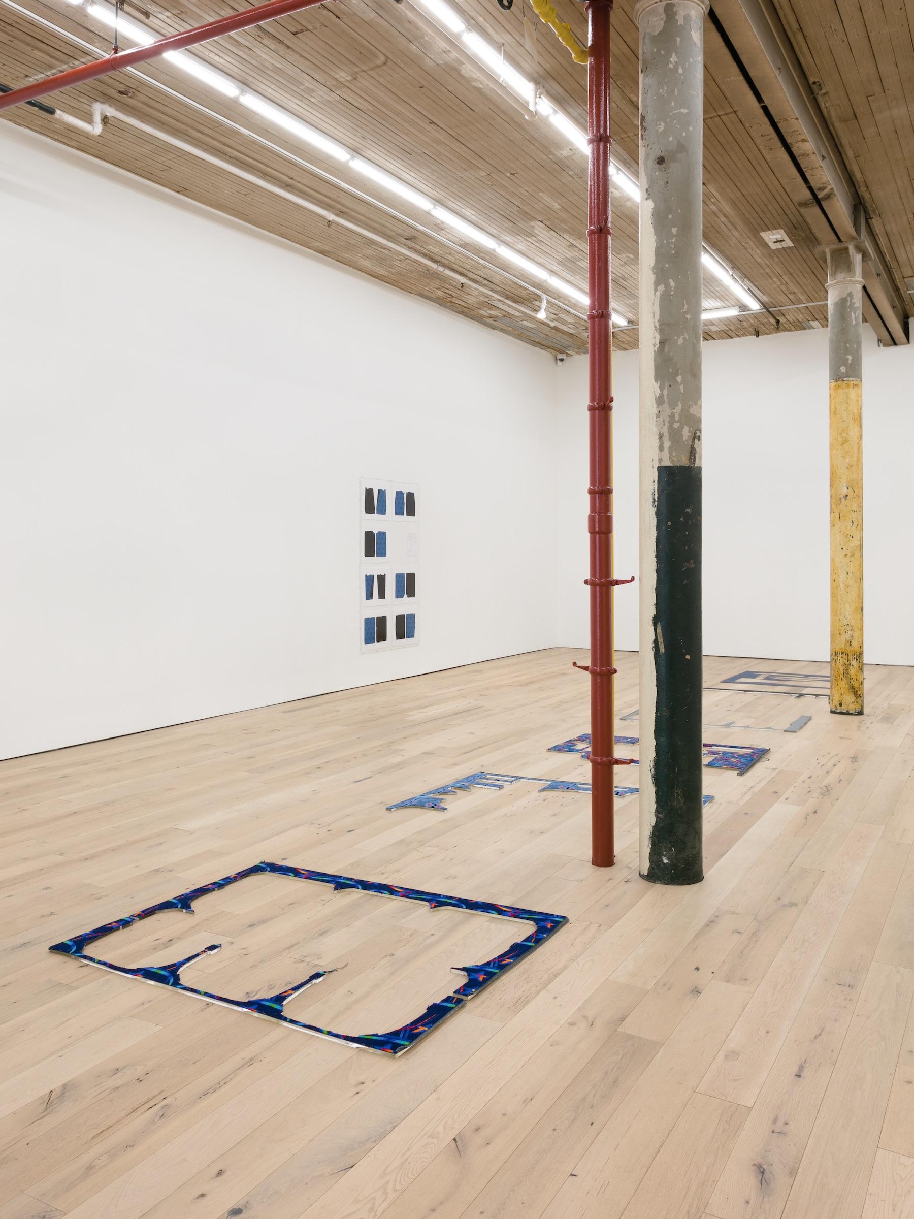 Installation view,  Receipt of a Form, Martos Gallery, New York, 2017