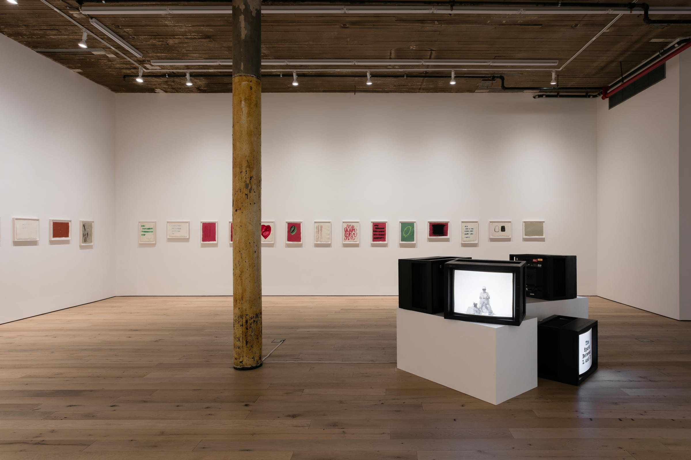 Installation view,  A Year of Firsts,  Martos Gallery, New York, 2017 - 2018
