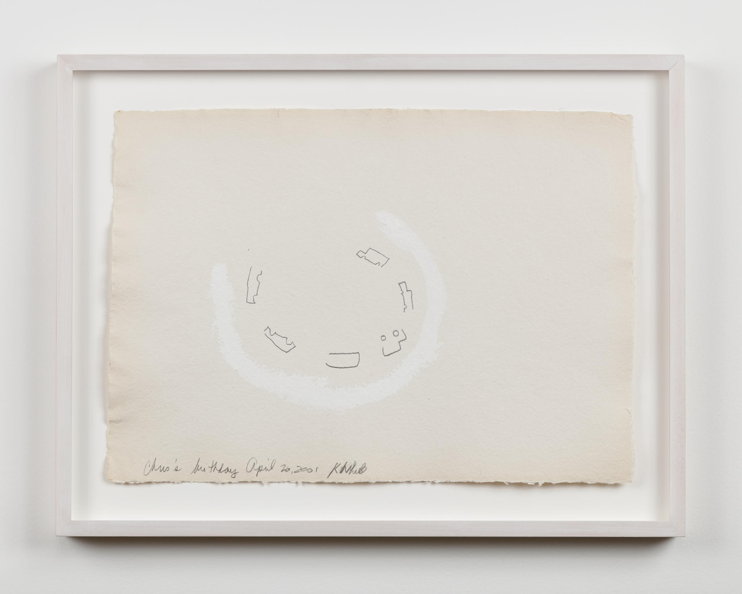Kathleen White,  A Year of Firsts    (detail), 2001, 40 works on paper, 12 × 16 ½ in. each; 16 ½ x 12 in. each
