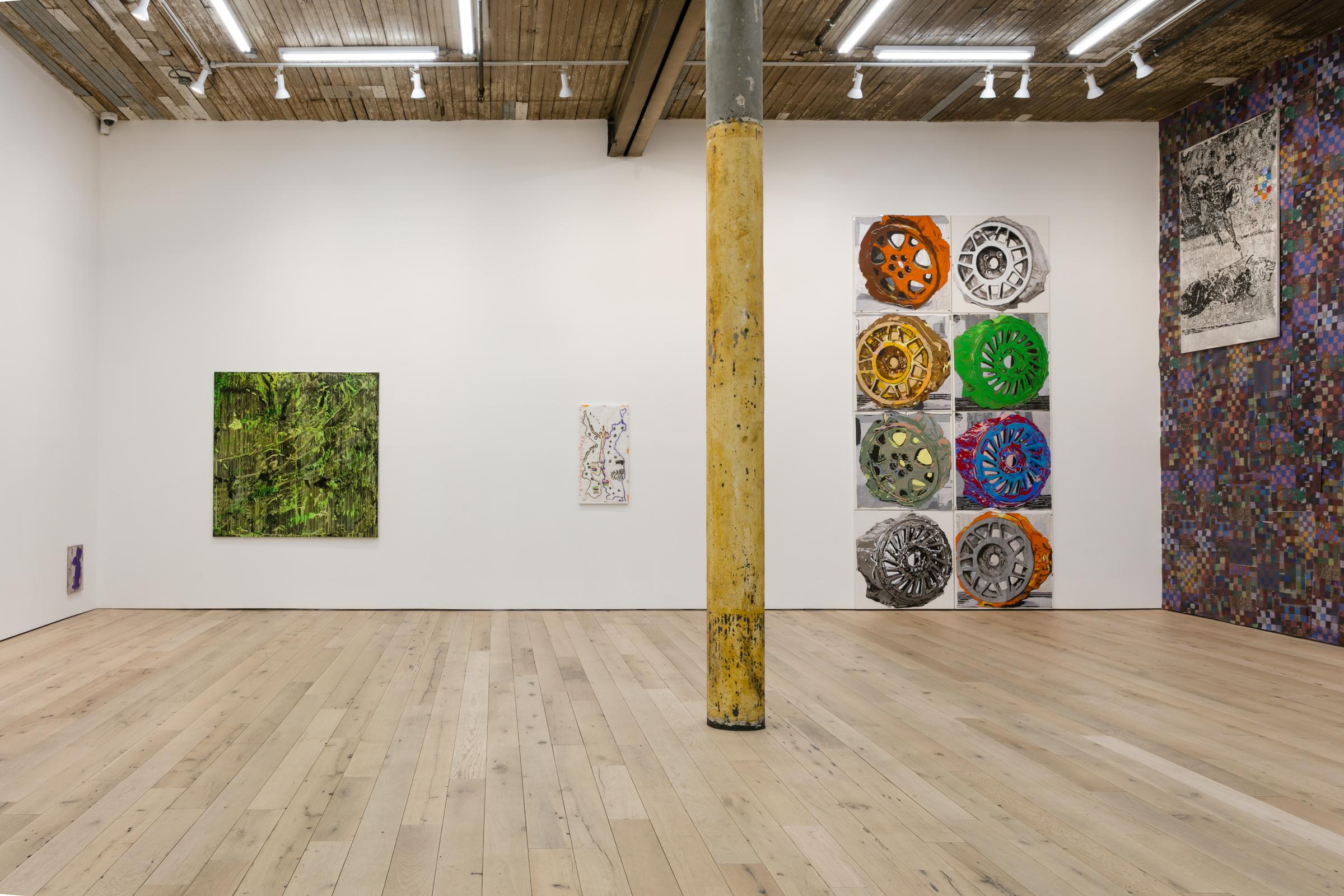 Installation view,  change is death,  Martos Gallery, New York, 2018