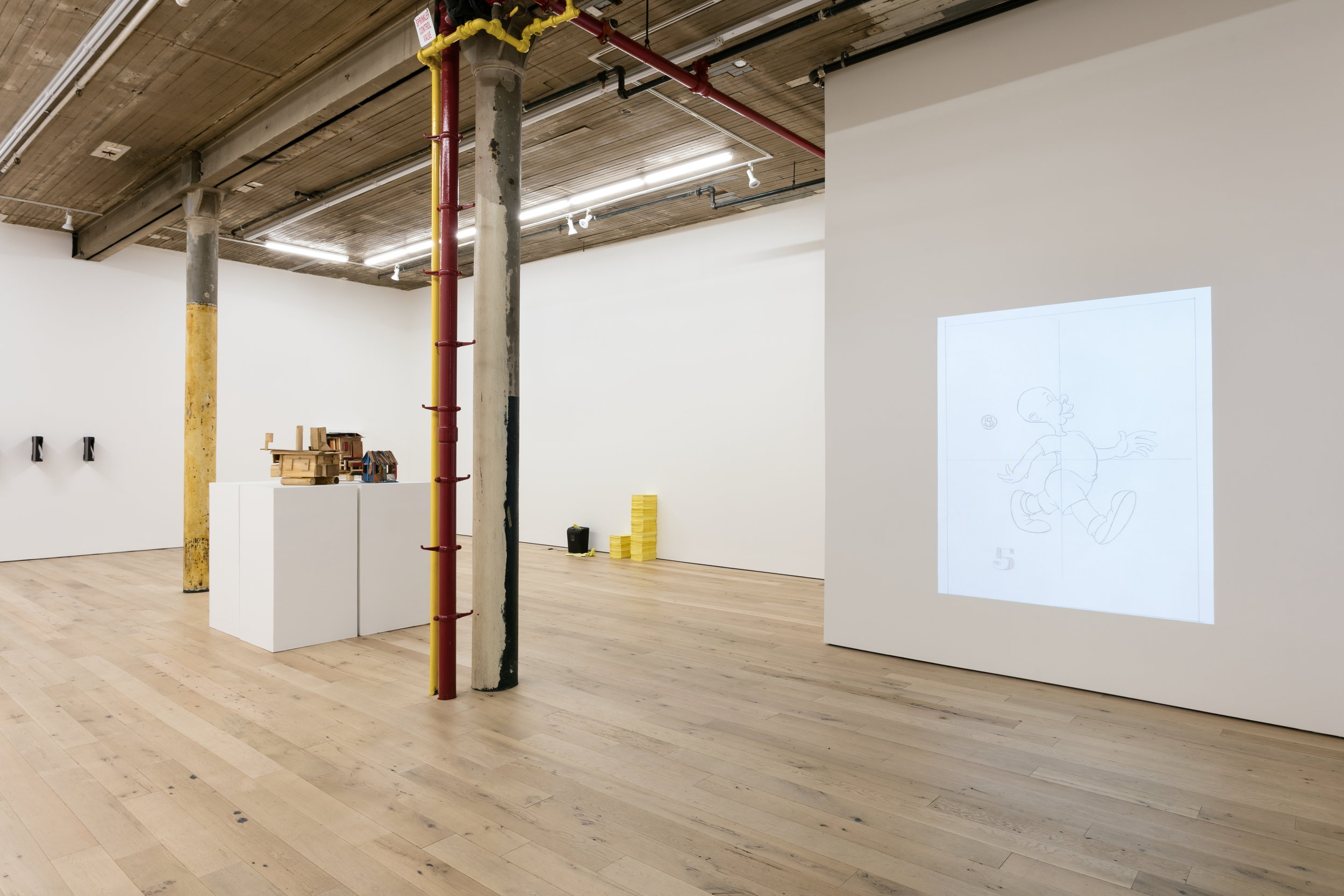 Installation View,  GWTW , Martos Gallery, New York, NY 2018