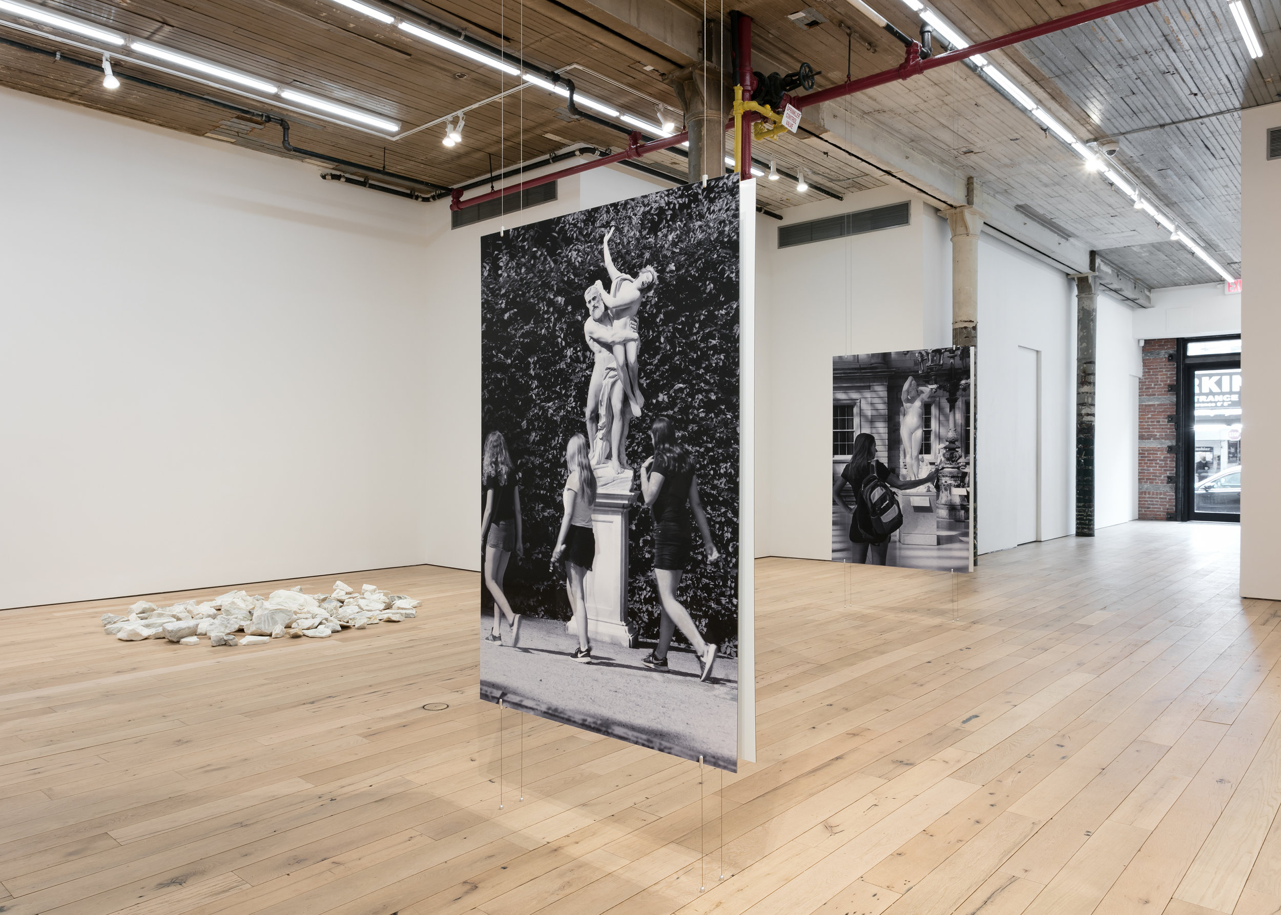 Installation View,  Statues Also Fall In Love , Martos Gallery, New York, NY, 2019