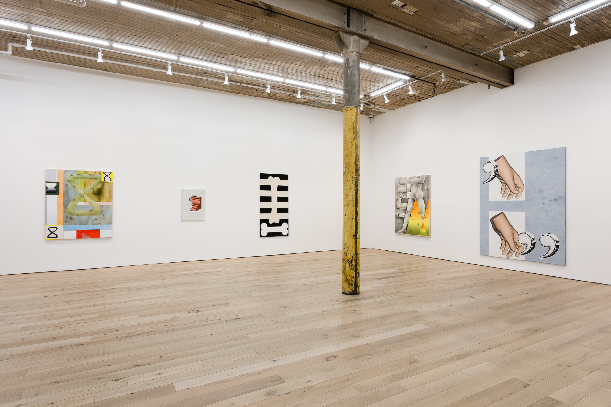 Installation View,  Eight Ball,  Martos Gallery, New York, NY, 2019