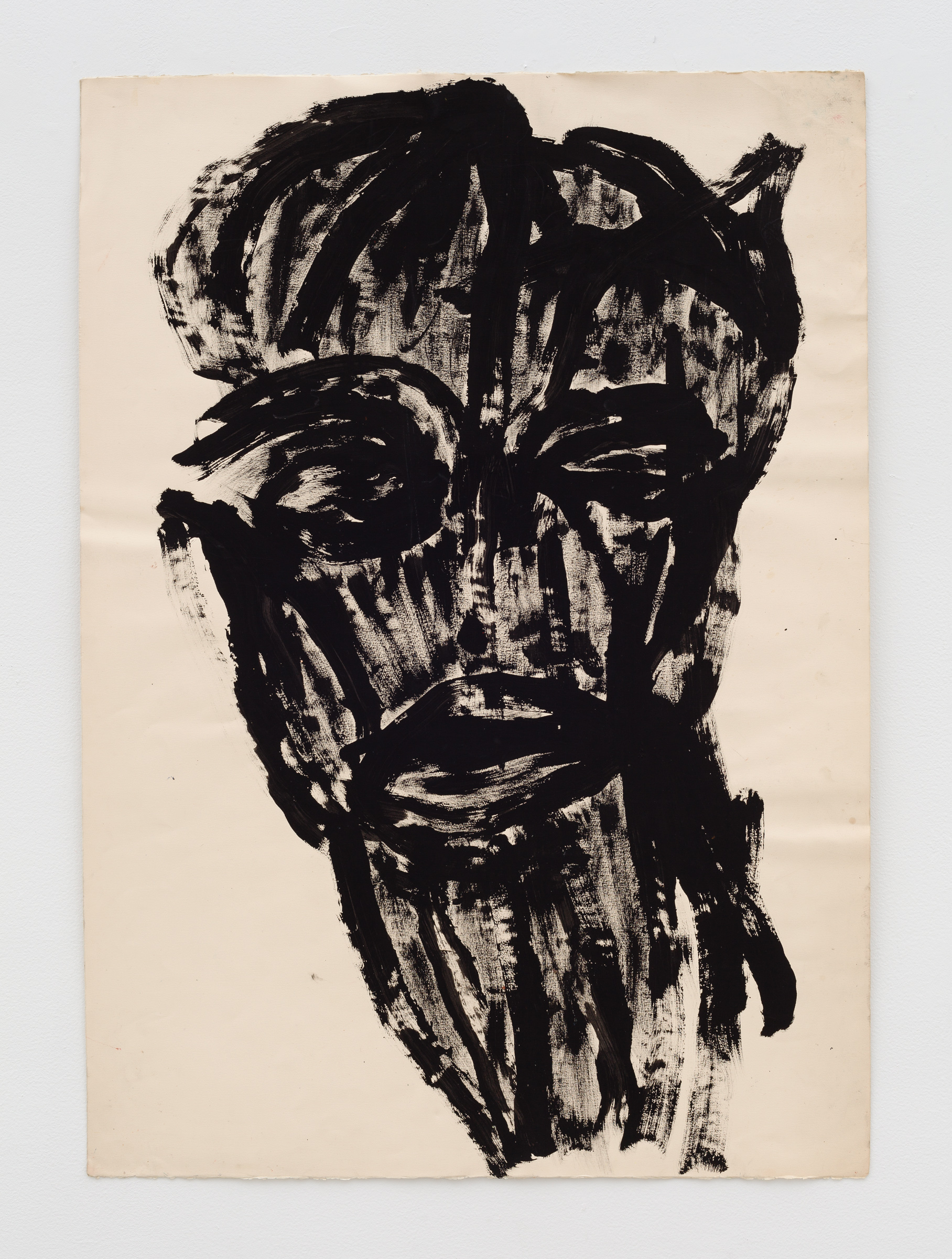 Dan Asher,  Untitled , 1980s, ink on paper, 41 ½ × 29 ½ in.