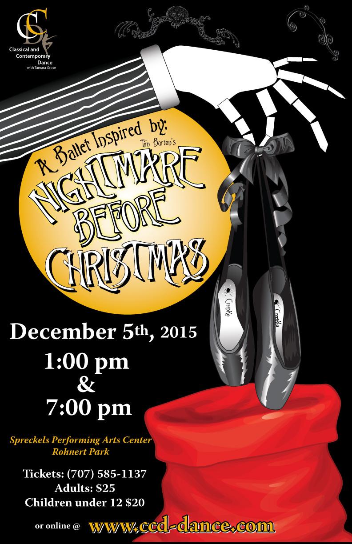 2015 Nightmare Before Christmas Ballet