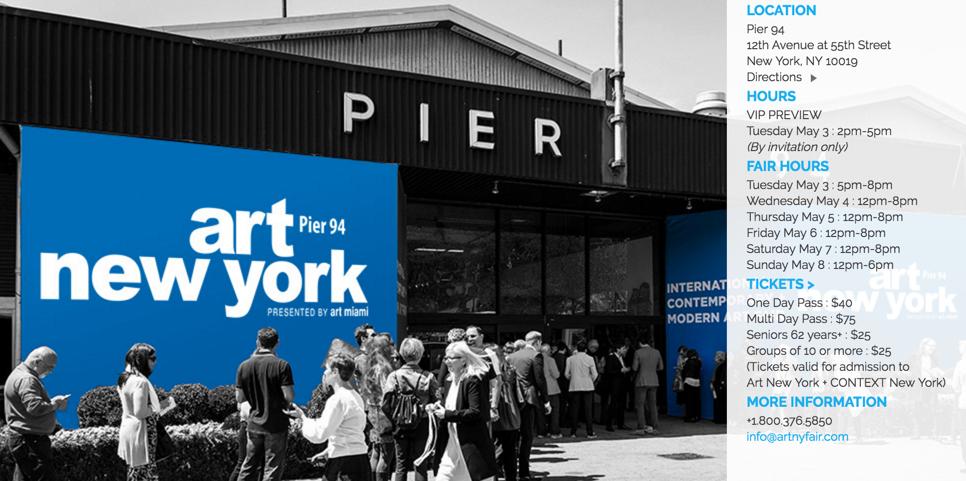 Art NEW YORK + Context 2016