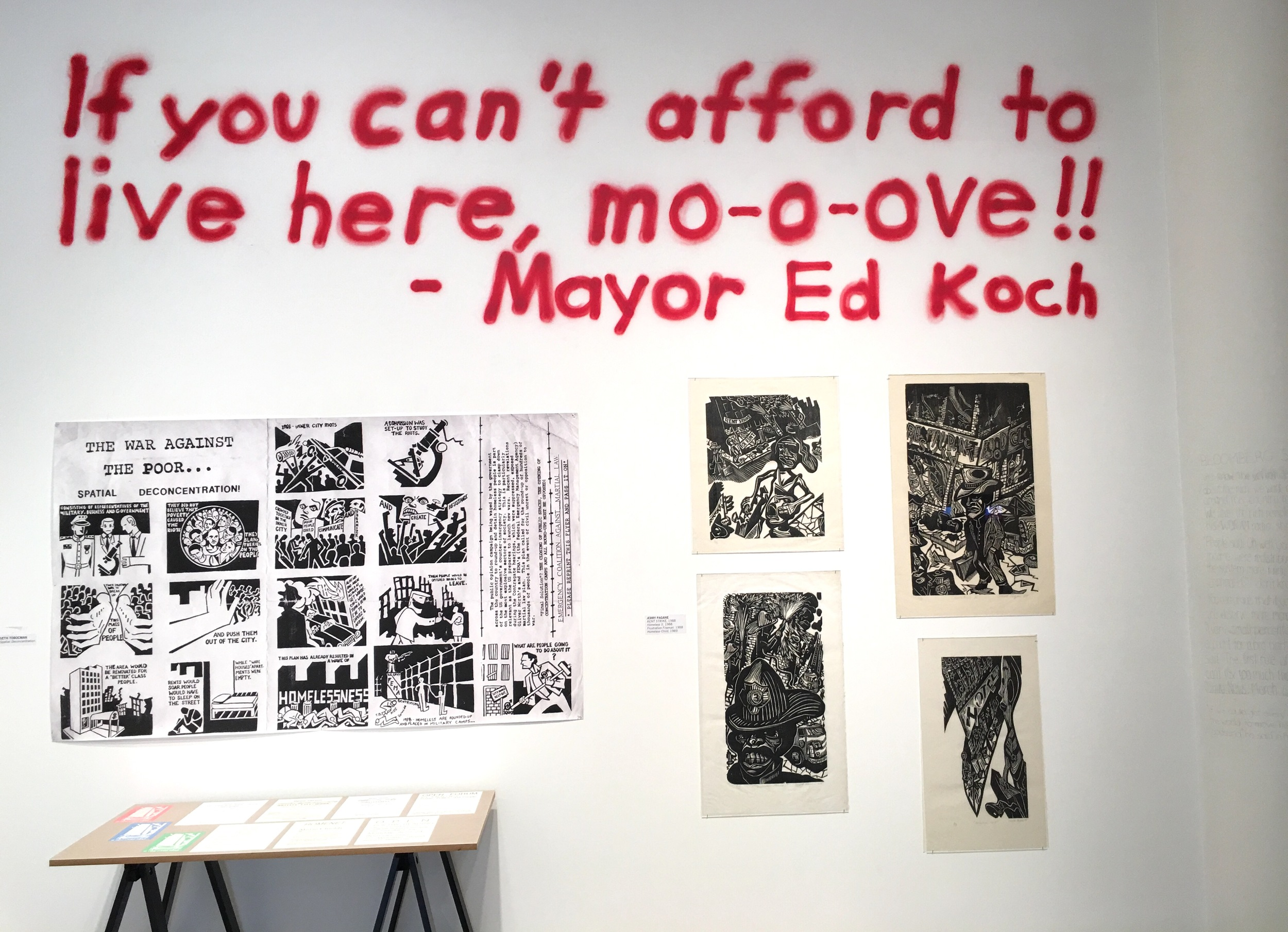 """If you can't afford to Live here, mo-o-ve!!"" - Mayor Ed Koch"