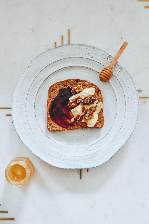 PB&J + Brie + Walnuts + Honey