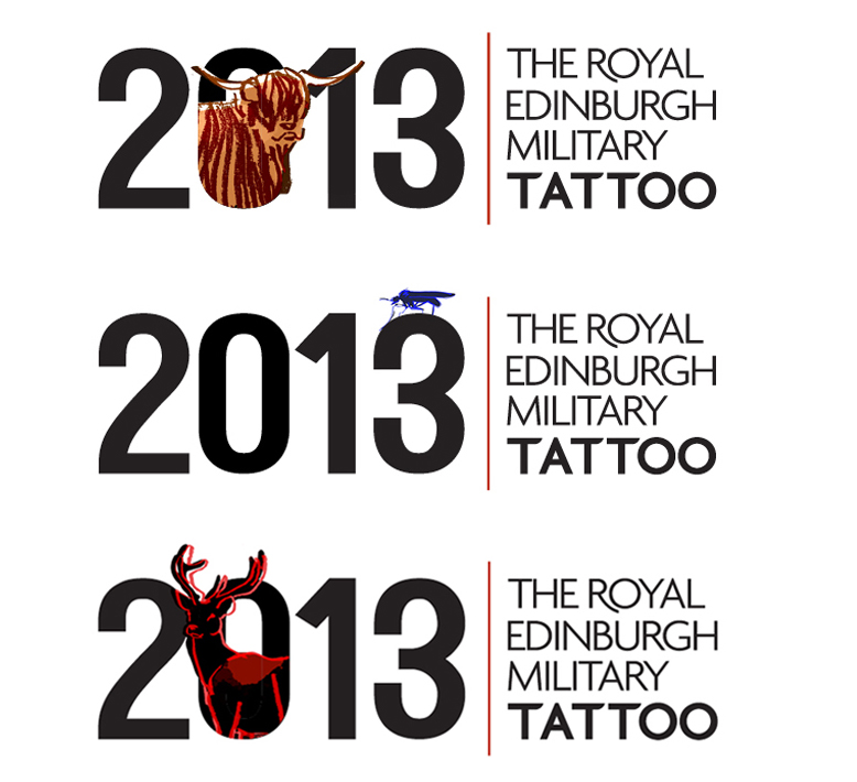 Suggested logo variations.