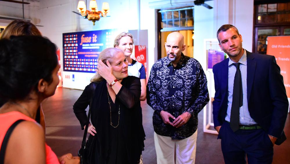 Opening Night Jury Panel. From left Lianne Houben, Meg Baber, Joel Labadie, Phil Baber.