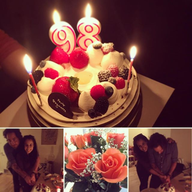 Birthday sharing fun!! @nomanzan_island