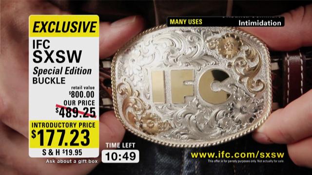 IFC SXSW Beltbuckle