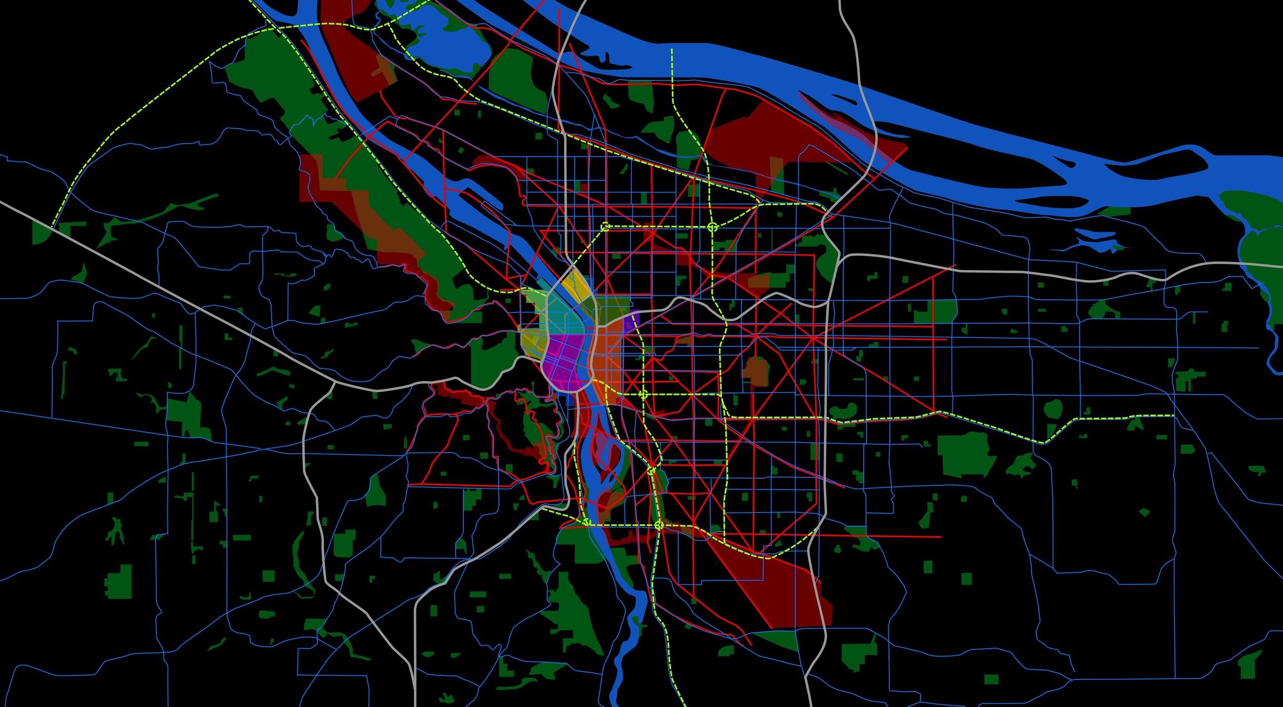 Portland Development Map