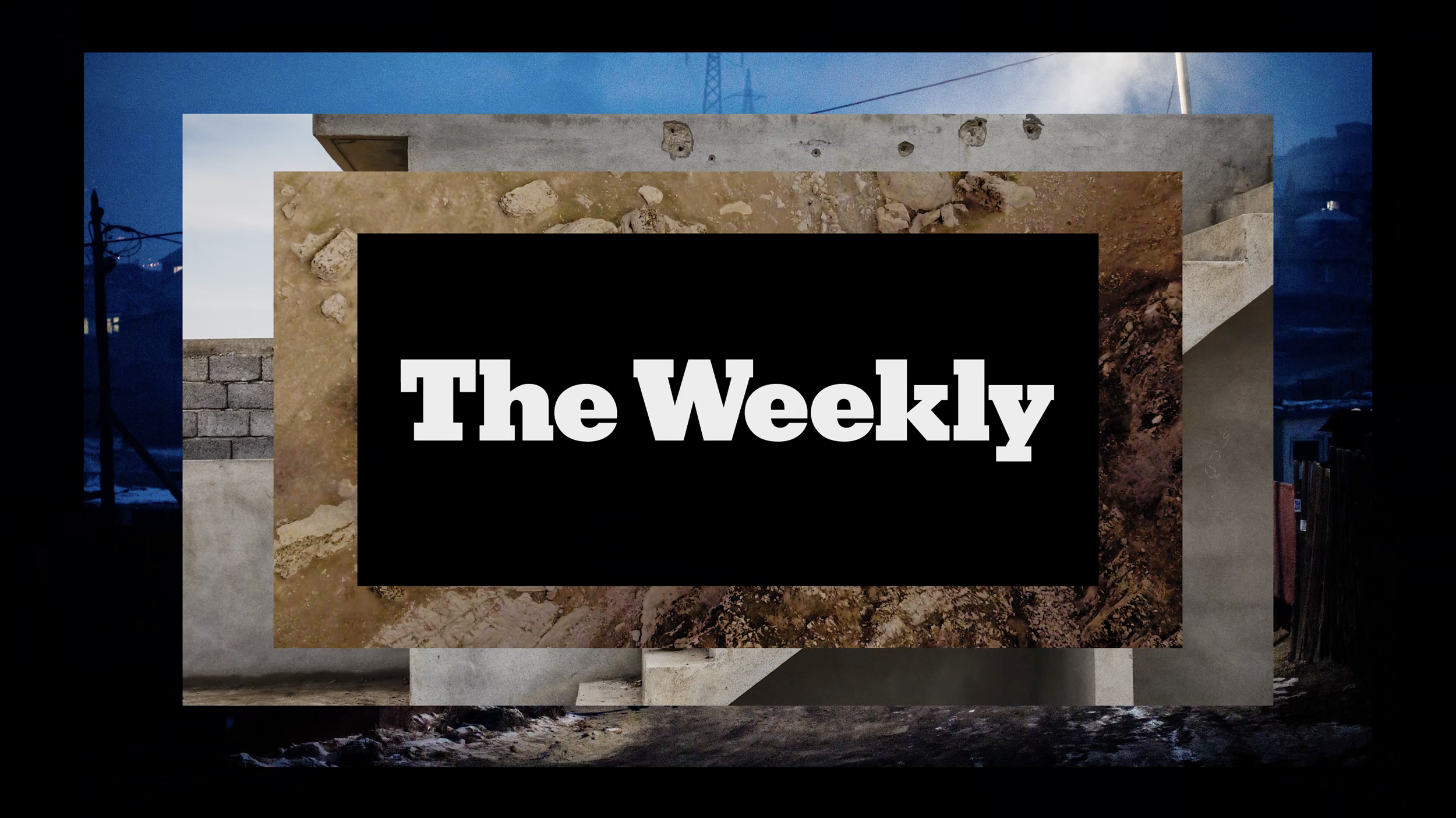 The New York Times The Weekly  Creative direction / Animation