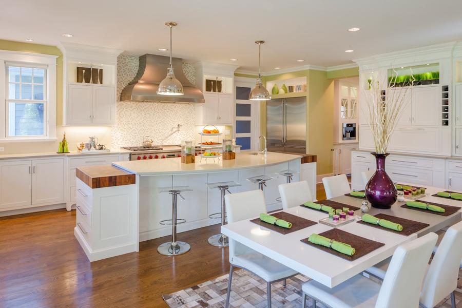Kitchen + Breakfast Room