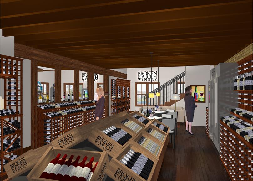 Wine Retail Area