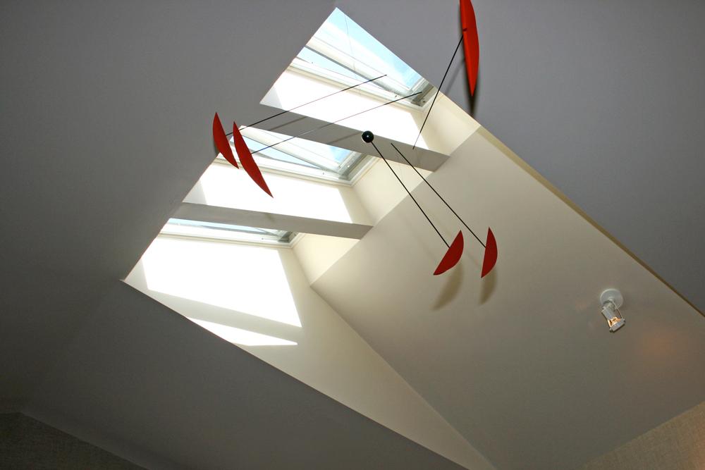 Mater Bedroom Skylights