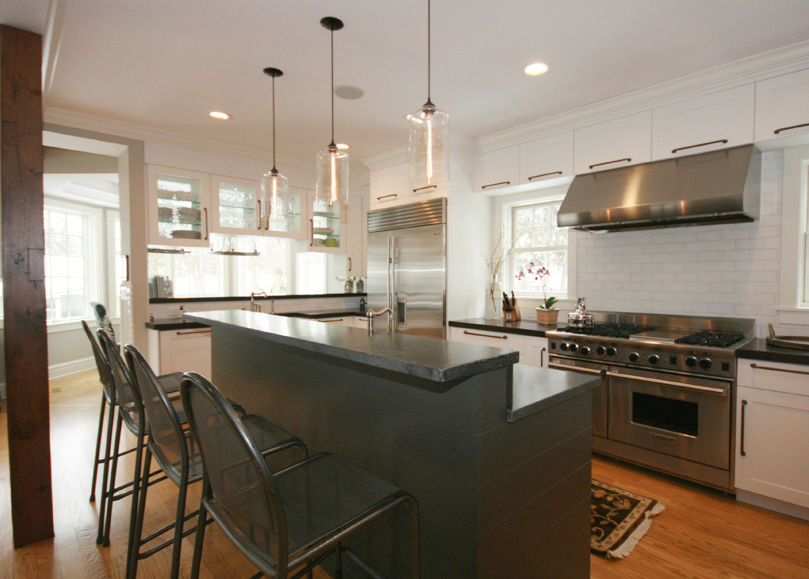 Chef's Kitchen Renovation and Addition | Wilmette