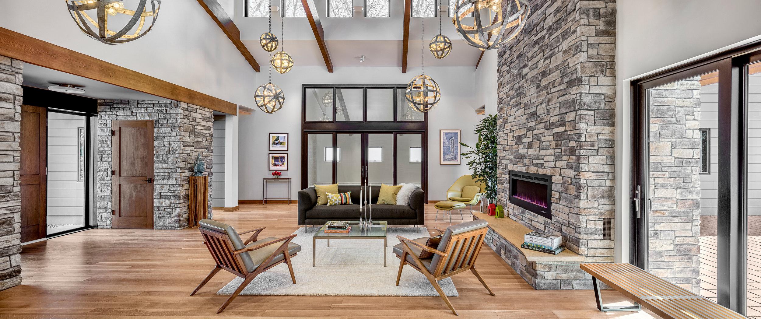 LEED Platinum Home in Evanston