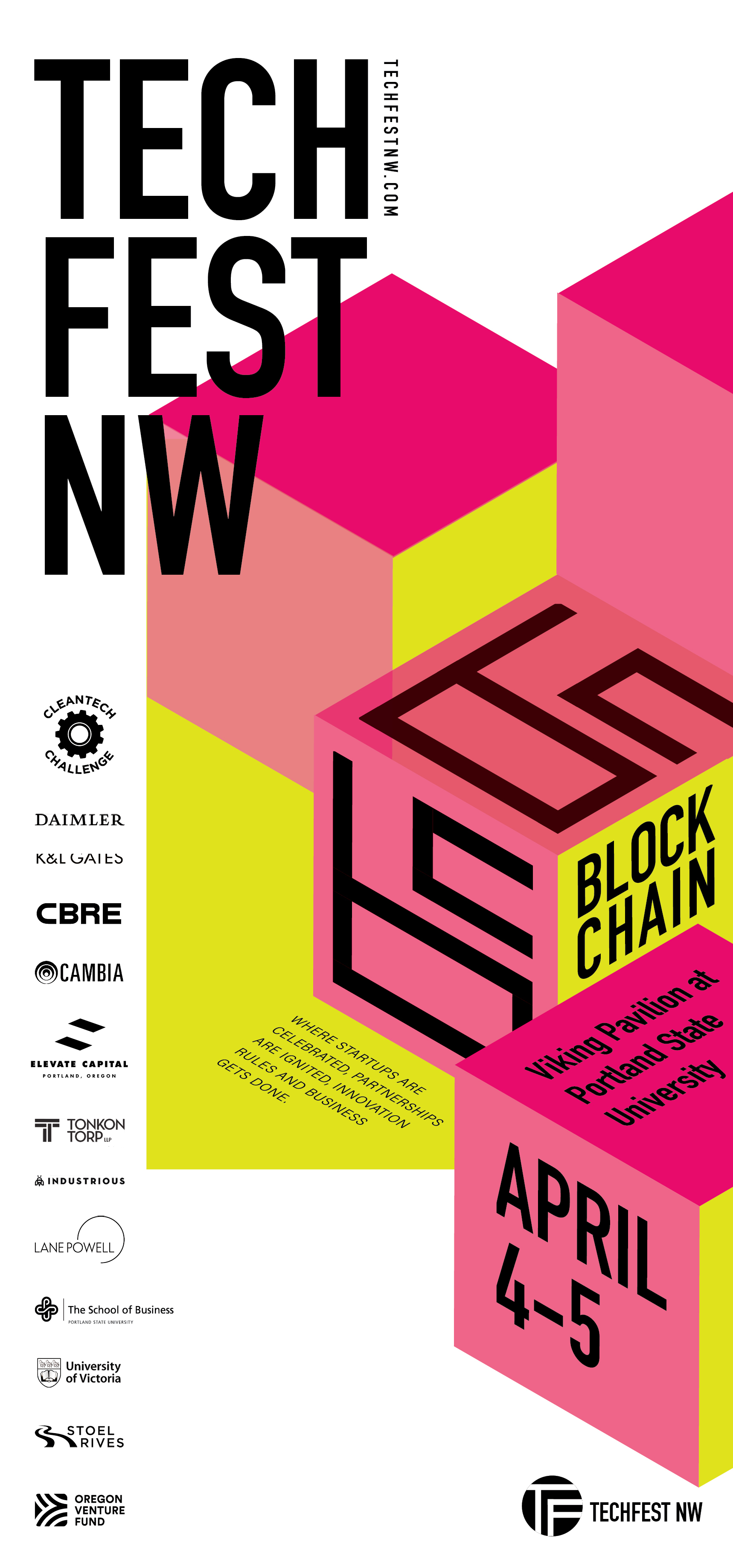 """Blockchain"" specific ad run in  Willamette Week ."