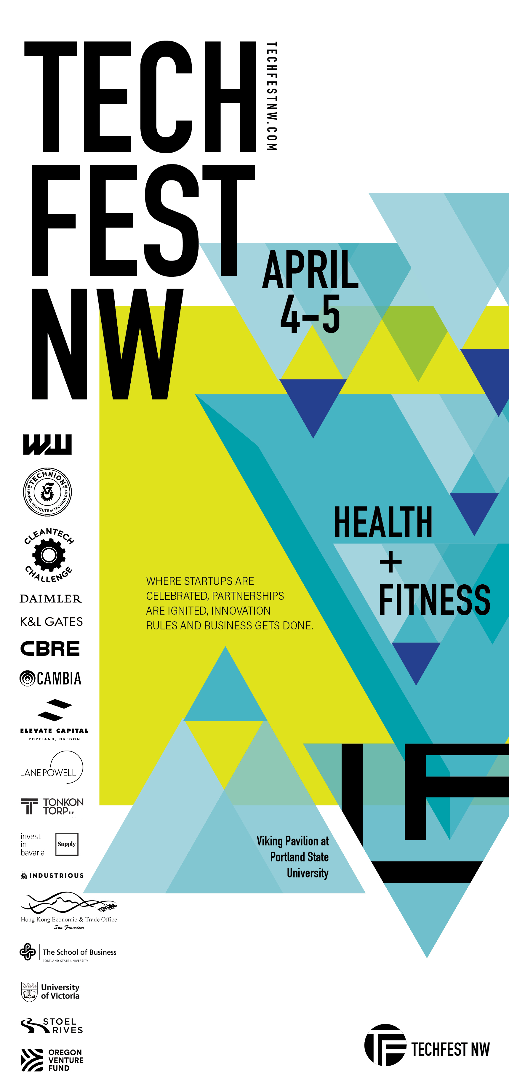 """Health+Fitness"" specific ad run in  Willamette Week."