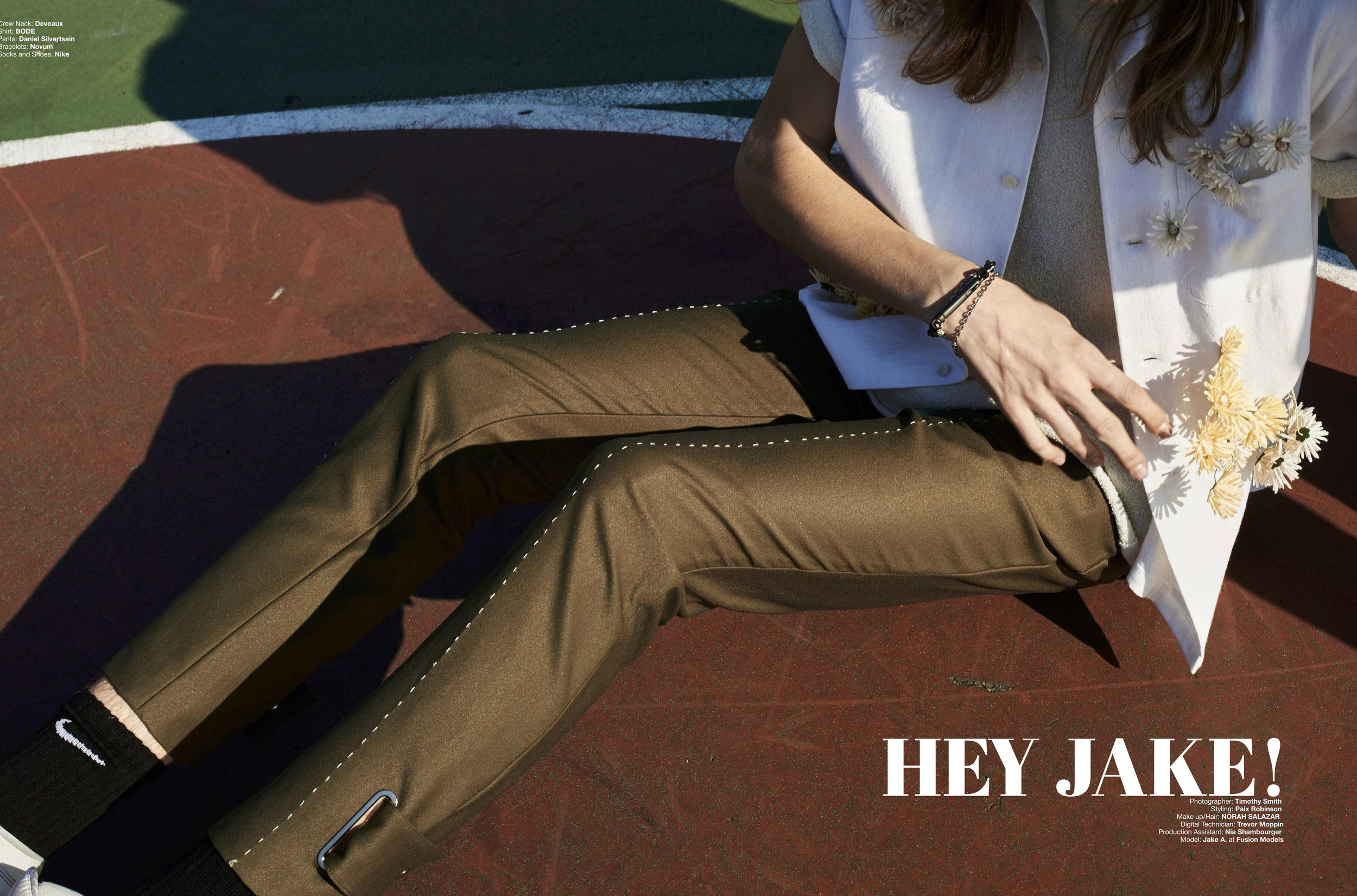 Hey Jake  Hermoso Magazine